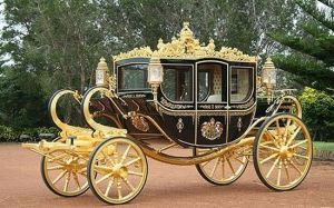 gold-carriage