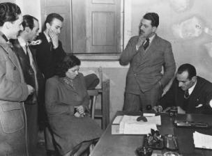 Interrogatorio in questura di Caterina Fort che uccise la moglie e i tre figli del suo amante