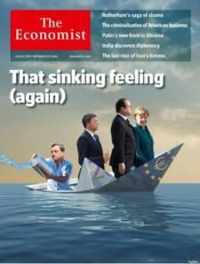 Copertina dell'Economist