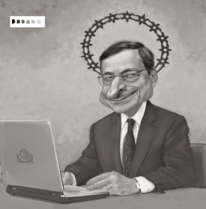 2.Alessandro-Grande_caricatura-mario-draghi_2011_BN_Within-our-mandate,-the-ECB-is-ready-to-do-whatever-it-takes-to-preserve-the-euro,-and-believe-me,-it-will-be-enough