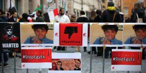 Roma, Sit-in in memoria di Giulio Regeni