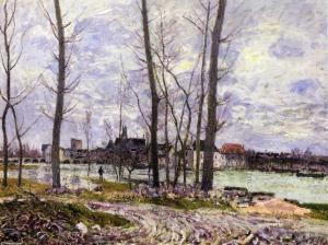 Alluvione, di Alfred Sisley
