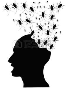 12306122-un-popolo-sconvolti-da-insetti-mangiano-la-testa