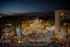 La manifestazione per la liberazione dei politici catalani - Barcellona, 11 novembre 2017 (David Ramos/Getty Images)