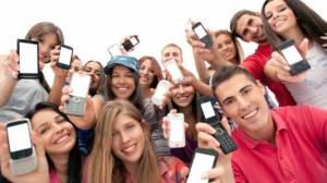 Teenager-mobile