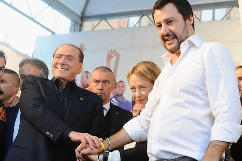 Berlusconi_Salvini