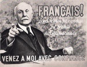 manifesto-con-Petain-Vichy