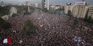 protesta santiago cile