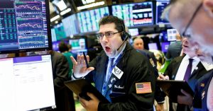 New York Stock Exchange Coronaviurus reaction